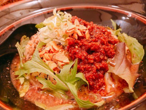 担々麺獅子王汁なし担々麺