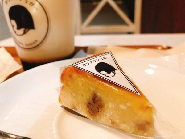 カリアゲシュガークリームチーズケーキ