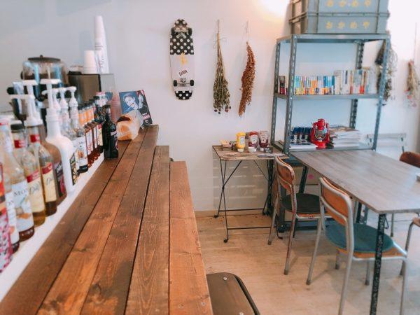 フリーキーワードローブコーヒー2階