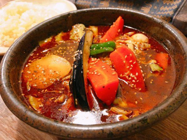 スープカレーべすチキンカリー