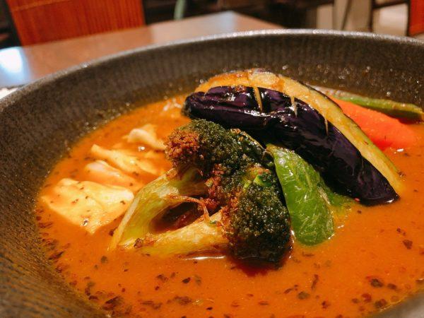 スープカレーラビ野菜