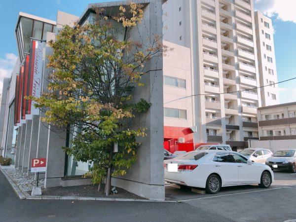 パティスリーフレール札幌駐車場