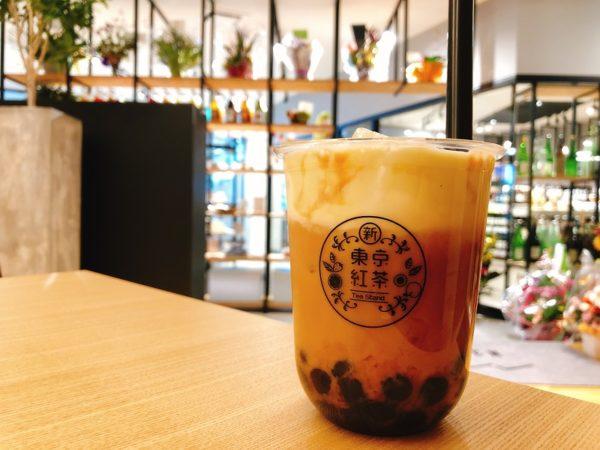 N3カフェ札幌タピオカチーズティー