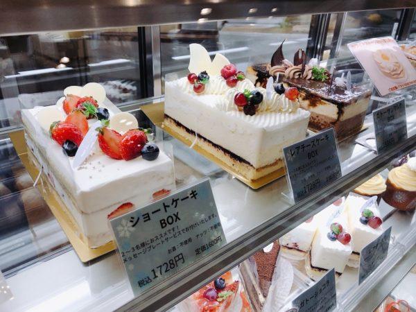 パティスリーラネージュボックスケーキ