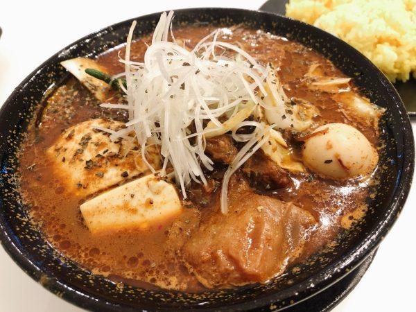 ポップタイガー札幌牛すじスープカレー