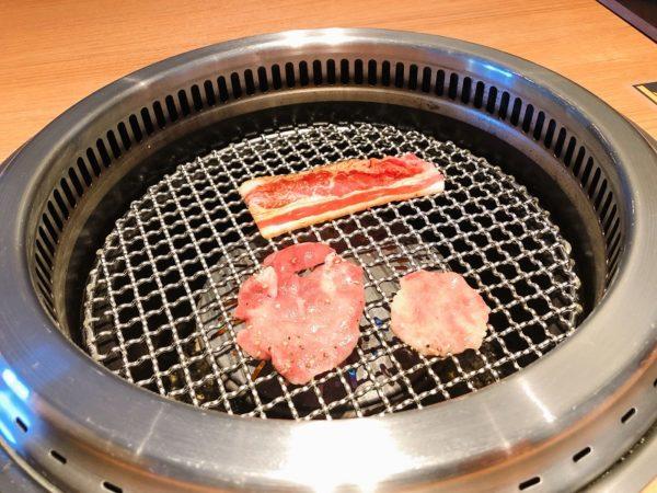 特急焼肉せいざん牛タンカルビ