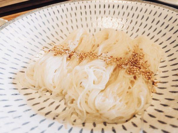 素麺no乾麺