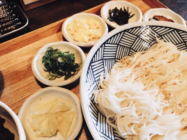 素麺no薬味
